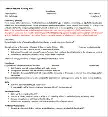 Resume For Internships Resume Template Internship Resume Samples For Computer Science