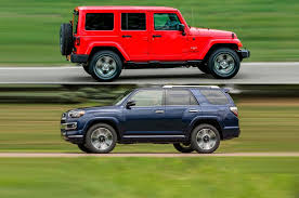 Jeep Wrangler Model Comparison Chart Car Compare 2017 Jeep Wrangler Unlimited Vs 2017 Toyota