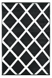 black and white area rugs lightweight reversible black white indoor outdoor area rug black and white