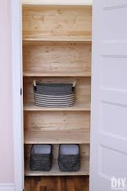 closet makeover diy closet shelving and diy planked closet