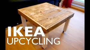 Ikea Hack Beistelltisch Ganz Einfach Mit Palettenholz Pimpen