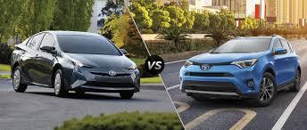 2016 Toyota Prius vs 2016 Toyota RAV4 Hybrid
