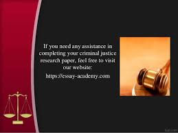 criminal justice research paper topics and ideas 9