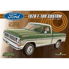 Moebius Model King 1970 Ford F-100 Custom Shortbed Pickup Truck ...