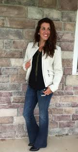 though i have another red leather jacket on my wish list i ve been smitten over white or eggshell color if you will for fall and into winter since last