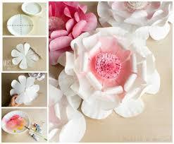diy paper plate flower craft for spring