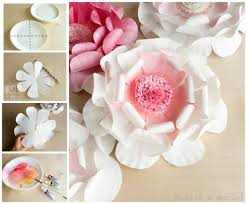 diy paper plate flower craft for spring