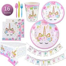 <b>Unicorn Birthday Supplies</b>: Amazon.com