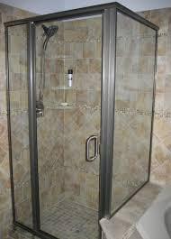 full image for charming installing tile corner shelves light brown ceramic tiled shelf style