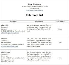 How To List References On Cv Famous Last Words Of A Resume References Available Upon