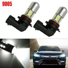 2008 Honda Civic Daytime Running Lights Details About White 9005 100w Led High Beam Daytime Running Light Drl For Honda Accord Civic