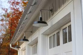 image of installing a gooseneck outdoor light fixture