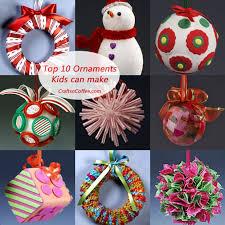 37 DIY Homemade Christmas Decorations  Christmas Decor You Can MakeChristmas Ornament Craft Ideas