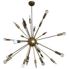 design within reach lighting. Viyet - Designer Furniture Lighting Design Within Reach Brass Satellite Chandelier