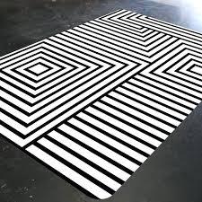 black and white rugs rug geometric mid century modern australia mode