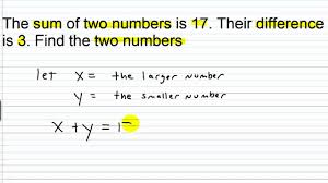 algebra i help systems of linear equations word problems part i you