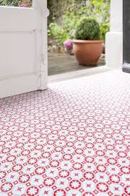 zazous rose des vents vinyl floor tiles