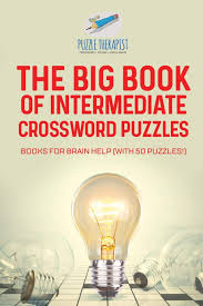 The Big Book Of Intermediate Crossword Puzzles Books For