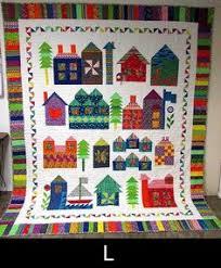 Moda Be My Neighbor Free Quilt Pattern -- So cute! I love all the ... & Moda Be My Neighbor Free Quilt Pattern Adamdwight.com