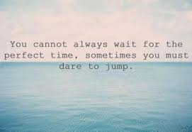 Dare Quotes Sometimes you must dare to jump Quote 56