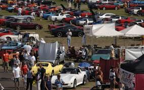 heartbeat in the heartland for three days in autumn corvettes cram the cornfields