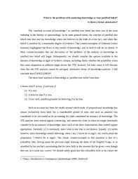 essay justified true belief oxbridge notes the united kingdom essay justified true belief notes
