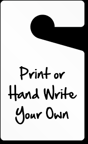 Hang Tag Template Cool Parking Hang Tags Design Online At MyParkingPermit