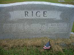 TNGenWeb Cemetery Records > Aubrey Rice Burial SiteNance Cemetery