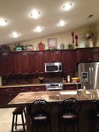 ... Kitchen, Dark Brown Rectangle Traditional Wooden Kitchen Cabinets Top  Decorating Ideas Varnished Ideas For Space ...