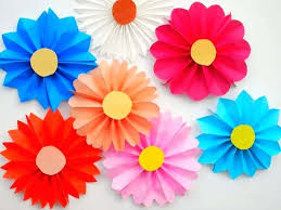 Flower Made By Paper Folding How To Make Rose Flower By Paper Folding Flowers Healthy