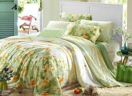 high quality beautiful fl patterns 4 pieces tencel bedding sets