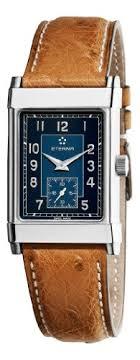 eterna 1935 quartz mens blue face leather strap watch 8190 41 eterna 1935 quartz mens blue face leather strap watch 8190 41 40 1008bu watches mens watches womens watches kids watches