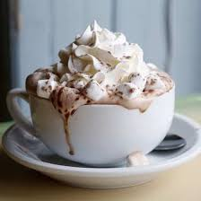 hot chocolate with marshmallows and whipped cream. Simple Marshmallows Hot Chocolate With Marshmallows Inside With And Whipped Cream