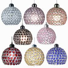 modern glass crystal ceiling pendant light shade jewel ball chandeliers shades 1 of 9free