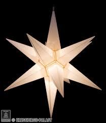 Haßlauer Weihnachtsstern Für Innen Weiß Inkl Beleuchtung 65 Cm