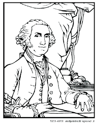 George Washington Coloring Pages Printable Carver Coloring Page
