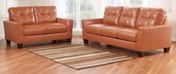 Buy Ashley Furniture SET Paulie DuraBlend Orange