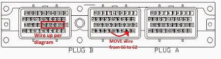 2jzge na t tt ecu mod club lexus forums this shows how you wire up the coils and also move the wire for the old maf sensor to the new map sensor spot odb1 only