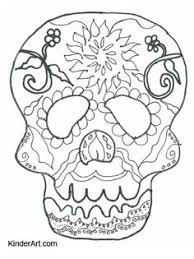 Small Picture Halloween Coloring Pages Halloween coloring Sugar skulls and