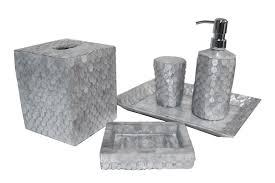 bathroom accessories black and silver. silver wings bath set bathroom accessories black and