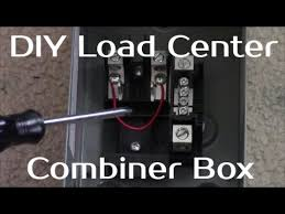 solar panel systems for beginners pt 3 how to build a load center solar panel systems for beginners pt 3 how to build a load center