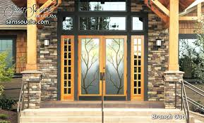 glass double front door. Double Entry Doors With Glass Front Without Door H