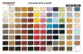 Tarrago Dye Color Chart Warkov Safeer Leather Ltd