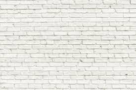 white brick wall splash