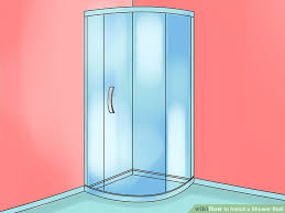 image titled install a shower stall step 10