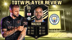 HE IS BACK AT CB! 86 TOTW KYLE WALKER PLAYER REVIEW! FIFA 21 ULTIMATE TEAM  - YouTube