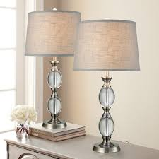 Pool Table Lights Costco Bridgeport Designs Crystal Table Lamp 2 Pack Costco Uk