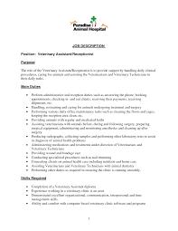 Examples Of Receptionist Resumes Receptionist Resume Skills Resume Badak 50