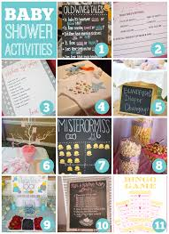 Baby Shower Activities | Catch My Party