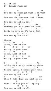 All In All In 2019 Ukulele Worship Songs Ukulele Chords